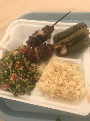 Delicious food from the Egyptian Festival in Nashua.